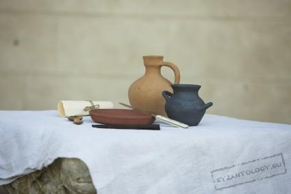 Simply Byzantine tableware
